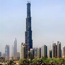 Самое высокое сооружение в мире. Какое сооружение самое высокое на земле.