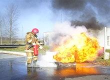 Почему бензин горит?