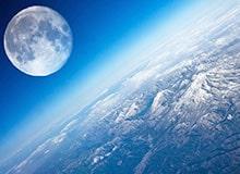 Почему луна следует за нами, когда мы едем на машине?