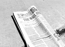 Кто опубликовал первую газету?