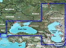 Как образовались Черное и Каспийское моря?