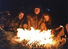 Как пещерные люди научились разводить костры?