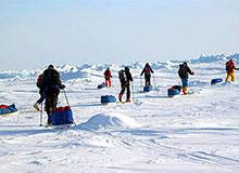 Амундсен что открыл. Кто открыл Южный полюс.