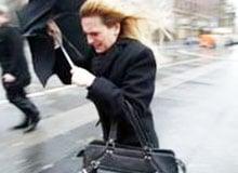 Отчего при ветре человеку бывает холоднее?