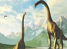 В какие времена жили динозавры?