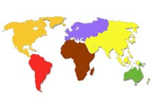 Сколько всего континентов?
