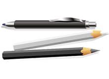 Когда придумали ручку и карандаш?