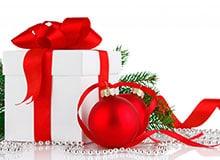 Когда появился новогодний подарок?