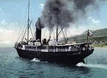 Как выглядели первые пароходы?