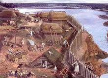 Как выглядело поселение древних славян?