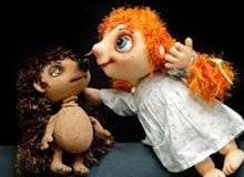 Как выглядят куклы в кукольном театре?