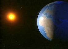 Почему мы не всегда видим Солнце?