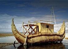 Как выглядела лодка из папируса?