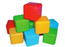 Кто изобрел детские кубики?