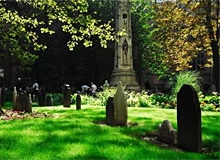 Когда впервые стали делать надгробия?