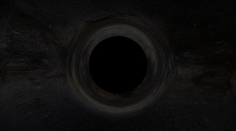 почему черная дыра черная
