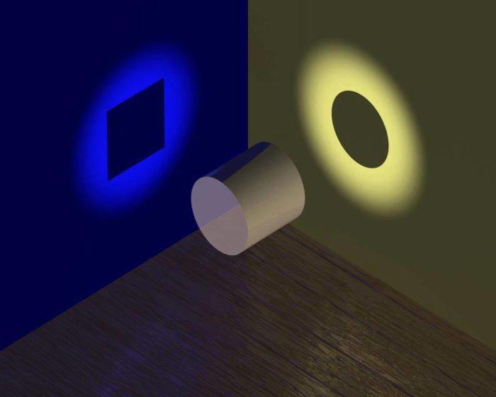 цилиндр и прямоугольник