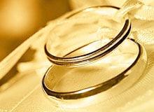 Когда начали носить обручальные кольца?