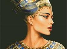 Почему египетскую царицу Нефертити всегда рисуют в профиль?