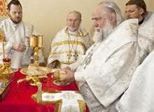 Что происходит в церкви во время богослужения?