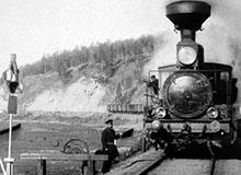 Когда в России появились железные дороги?