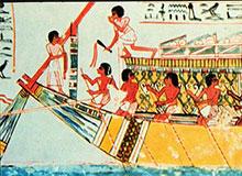 Кто первым начал путешествовать по воде?