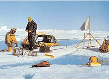Как работает дрейфующая полярная станция?