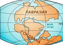 Как выглядела Земля в далеком прошлом?