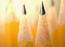 Где появился карандаш?