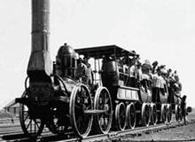 Когда в России появилась первая железная дорога?
