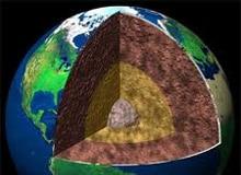 Земля внутри фото - из чего состоит планета Земля строение. Земля внутреннее строение.