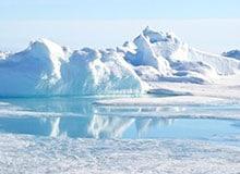 Одинакова ли температура на Северном и Южном полюсе?
