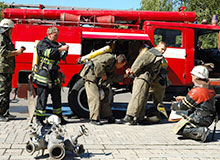 Какой была первая пожарная команда?