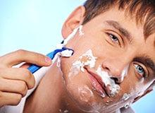Когда мужчины начали бриться?