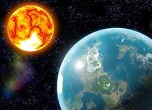 Что заставляет Землю вращаться вокруг Солнца?