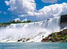 Как возник Ниагарский водопад?