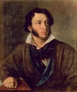Русский писатель А.С. Пушкин