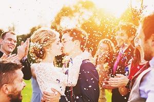 Оригинальная идея свадебной фотосессии