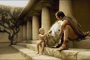 Жизнь, обучение и одежда для мальчиков в Спарте. Как одевались дети в древней Спарте.