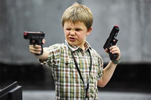 Игрушечные пистолеты для мальчиков обзор